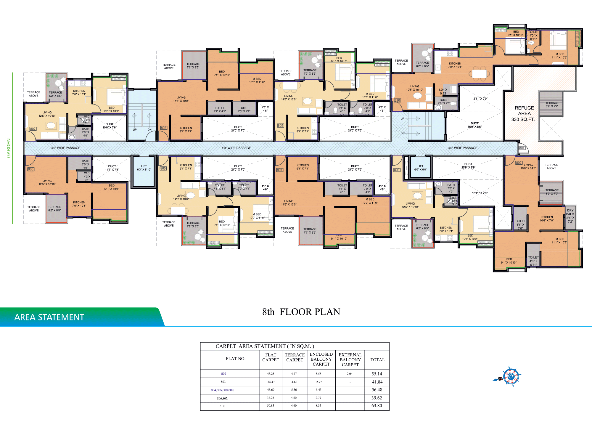 Pristine Aakanksha_8 FLOOR PLAN